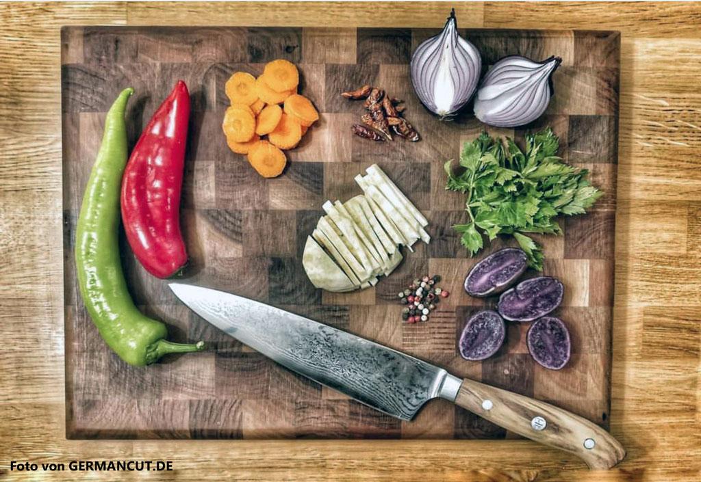 Welches Küchenmesser für Gemüse und welches für Fleisch?
