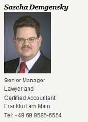 Sascha Demgensky, Experte von der Unternehmensberatungsfirma PwC