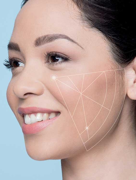 eine professionelle Hautanalyse / Hautdiagnose bei einem Hautexperten erstellen