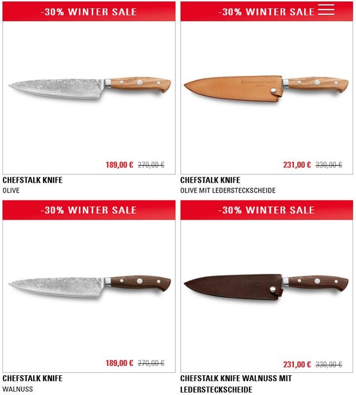 Messer als Set im Internet kaufen
